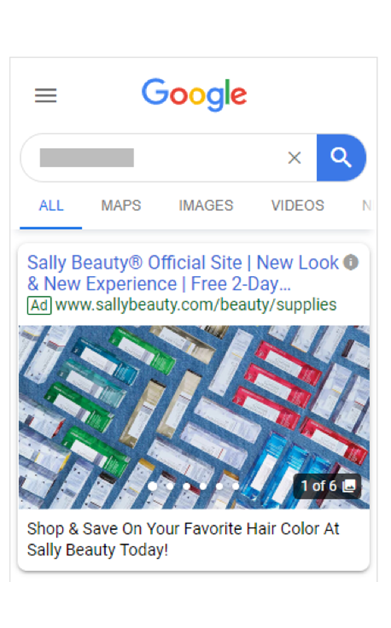 Google Visual Ads