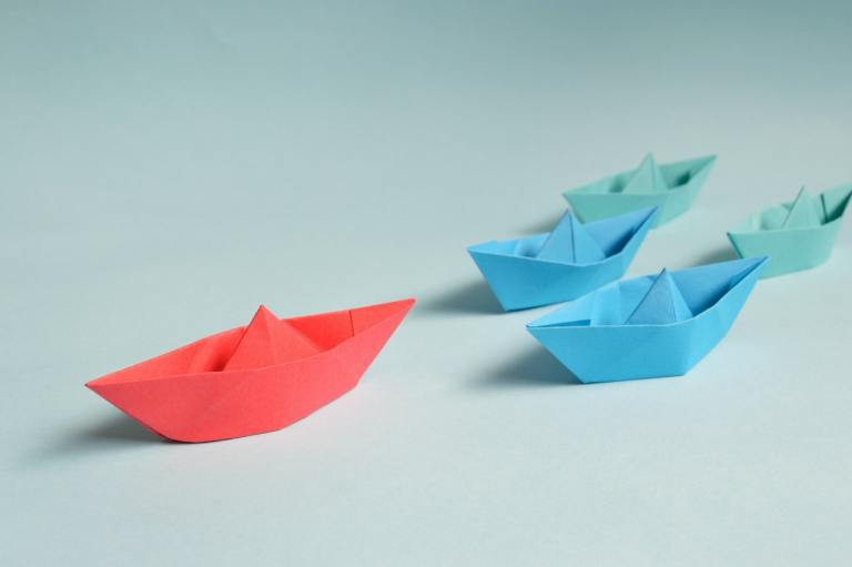 paper-boats-on-solid-surface