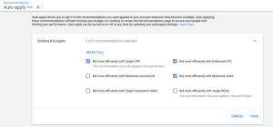 google-auto-recommendations-settings